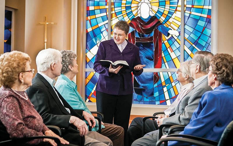Immanuel lives our Chirst-centered mission at every senior living community.