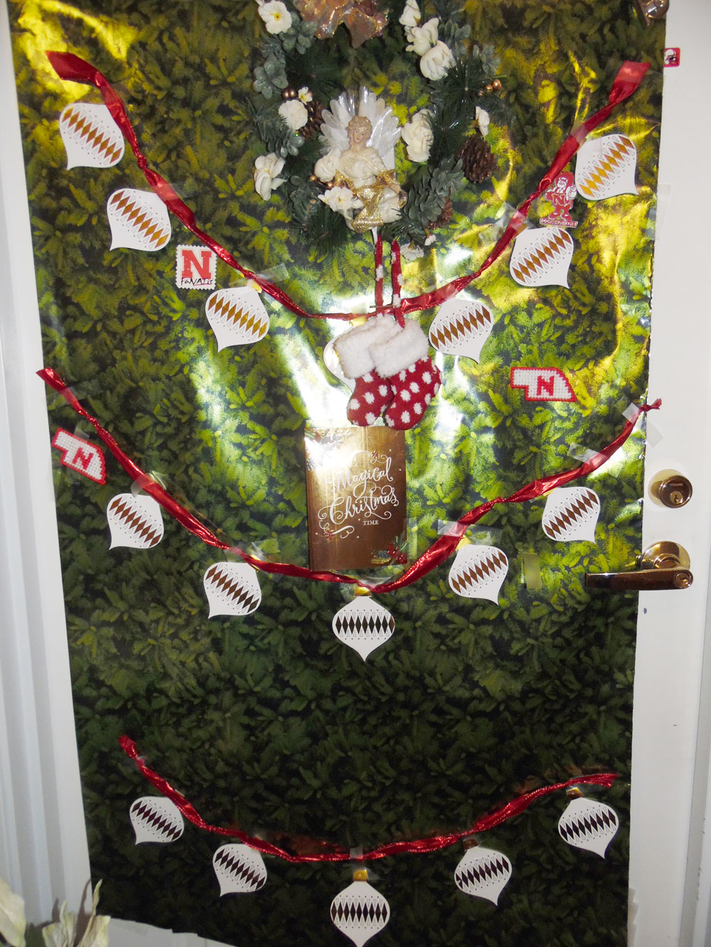 A decorated door at Immanuel Courtyard senior living community