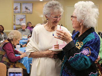 Image for Immanuel Village Resident Celebrates 100 Years