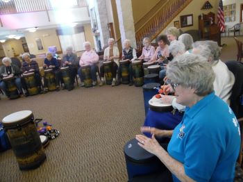 Image for Social Drumming at Trinity Village