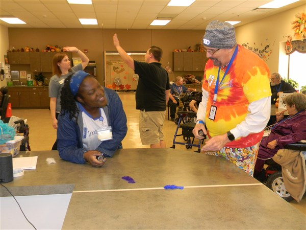 Immanuel Pathways in Southwest Iowa takes part in Turkey Baster races!
